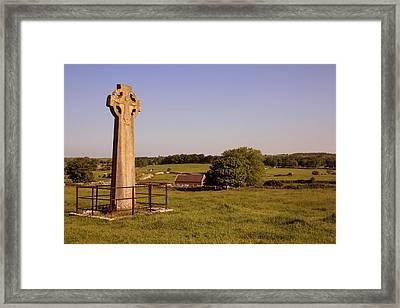 Kilfenora Celtic Cross Framed Print