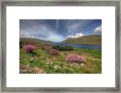 Killary Fjord Framed Print