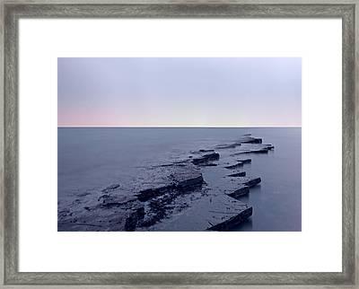 Kimmeridge Bay  Framed Print by Ollie Taylor