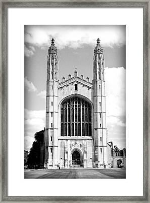 King's College Chapel Framed Print