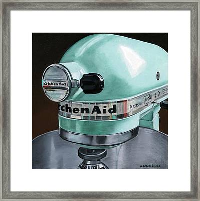 Kitchenaid Framed Print