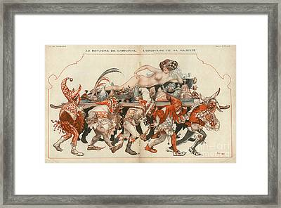 La Vie Parisienne 1926 1920s France Framed Print by The Advertising Archives