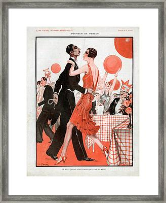La Vie Parisienne 1929 1920s France Cc Framed Print by The Advertising Archives