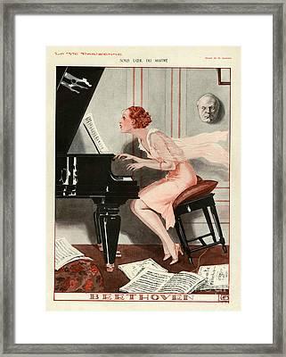 La Vie Parisienne 1930 1930s France Cc Framed Print