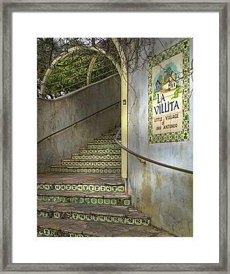 La Villita  Framed Print by David and Carol Kelly