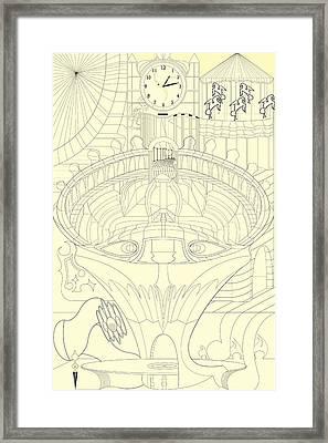 Laicepse Rodatam  Framed Print
