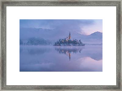 Lake Bled Framed Print
