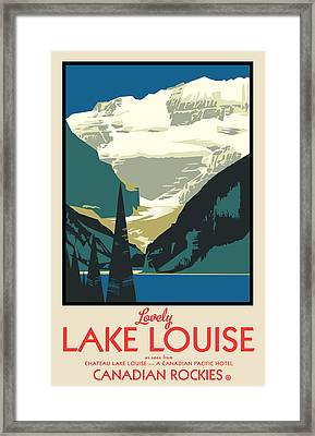 Lake Louise Framed Print by Gary Grayson