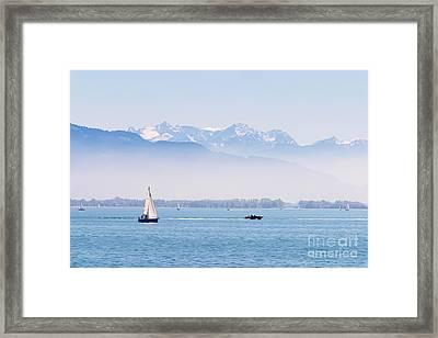 Lake Of Constance Framed Print