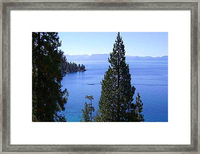 Lake Tahoe 4 Framed Print by J D Owen