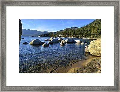 Lake Tahoe Beauty Framed Print by Alex King