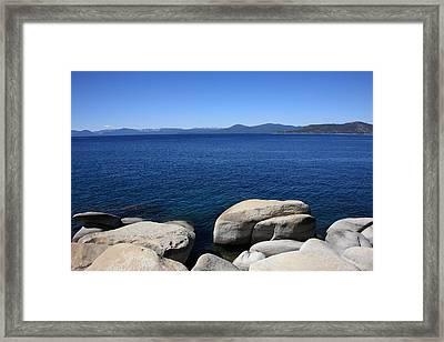 Lake Tahoe Framed Print by Frank Romeo