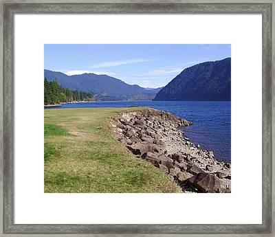 Lakes 3 Framed Print