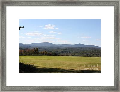 Landscape Framed Print by Arelys Jimenez