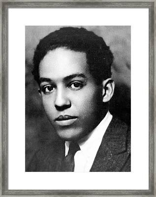 Langston Hughes (1902-1967) Framed Print by Granger