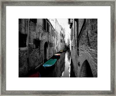 L'aqua Magica Framed Print by Micki Findlay