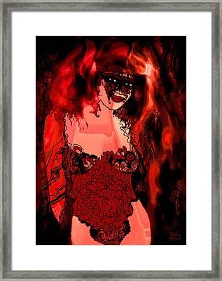Lara Framed Print by Natalie Holland