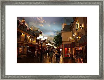 Las Vegas - Paris Casino - 12122 Framed Print