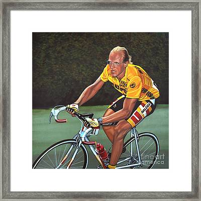 Laurent Fignon  Framed Print