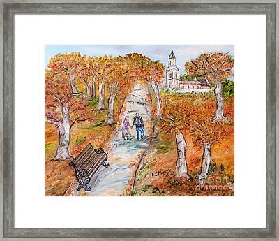 L'autunno Della Vita Framed Print