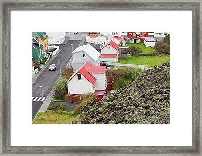 Lava Flow Framed Print by Ashley Cooper