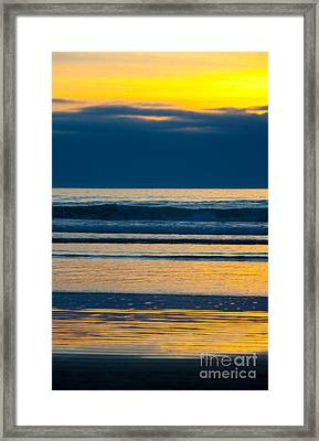 Layers Framed Print by Dana Kern