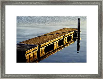 Lazy Summer Day Framed Print by Frozen in Time Fine Art Photography