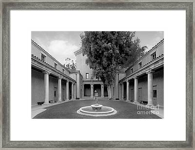 Lebus Court Pomona College Framed Print by University Icons