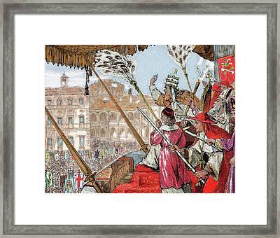 Leo X (1475-1521 Framed Print