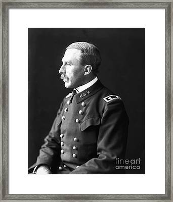 Leonard Wood (1860-1927) Framed Print by Granger