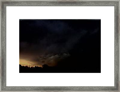 Let The Storm Season Begin Framed Print