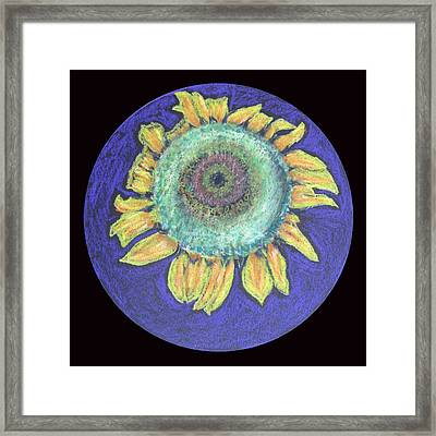 Framed Print featuring the drawing Let The Sun Shine In by Patricia Januszkiewicz