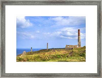 Levant Mine - Cornwall Framed Print by Joana Kruse