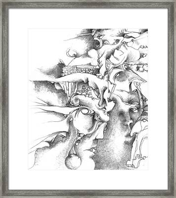 Levels Framed Print by Bodhi