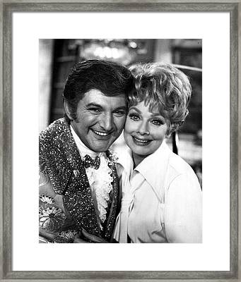Liberace Framed Print by Retro Images Archive