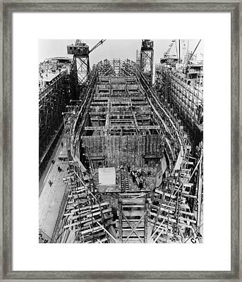 Liberty Ship, 1943 Framed Print by Granger