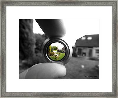 Life Through The Lens Framed Print by Jay Harrison