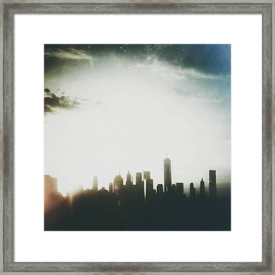 Light And Shadow Framed Print by Natasha Marco