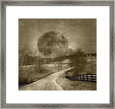 Light My Way Framed Print by Betsy Knapp