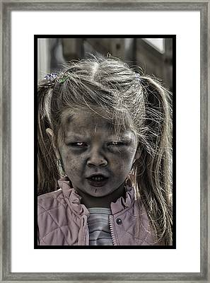 Living Dead Girl  Framed Print