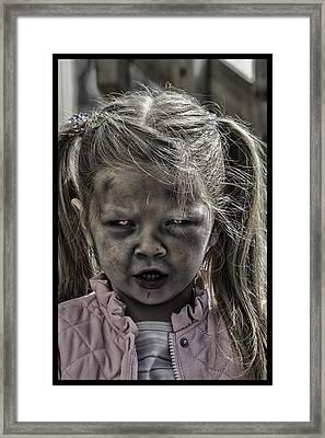 Living Dead Girl  Framed Print