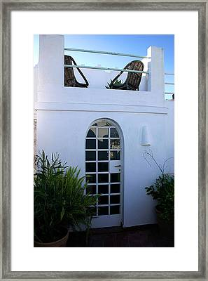Living On The Roof In The Old Medina Of Tangier Framed Print by PIXELS  XPOSED Ralph A Ledergerber Photography