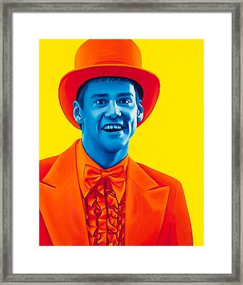 Lloyd Christmas Framed Print by Ellen Patton