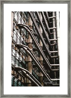 Lloyd's Of London 3 Framed Print by Dennis Knasel