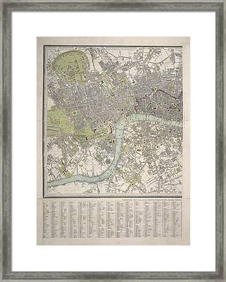 London And Westminster Framed Print