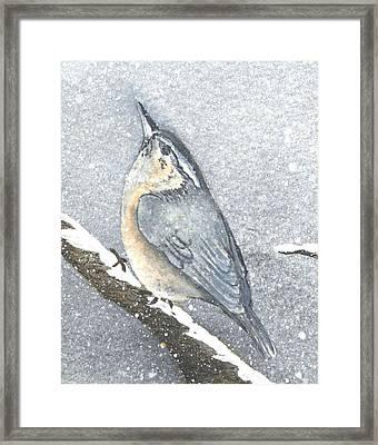 Lonesome Winter Framed Print