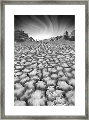 Long Walk Framed Print