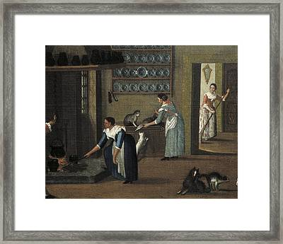 Longhi, Pietro, School Of Second Half Framed Print