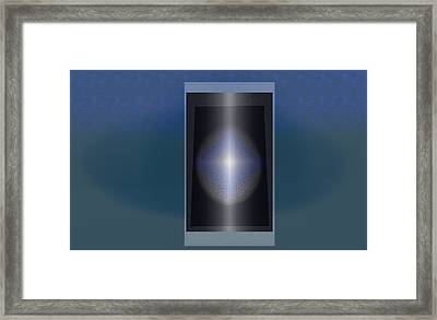 Look Deep Framed Print by Kellice Swaggerty