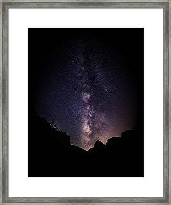 Heaven Come Down Framed Print